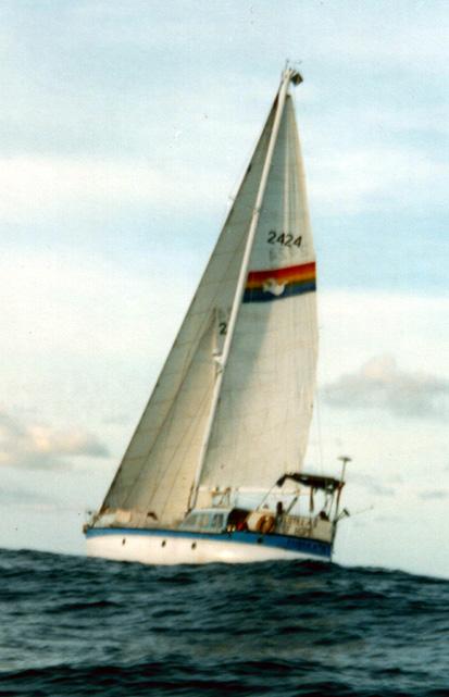 Eureka on the high seas to Nauru.