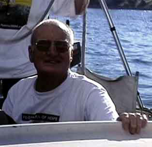 Lance Gowland, Skipper Eureka, from Sydney.