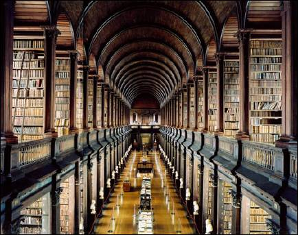 """Is this what an Akashic Library looks like? """"I have always imagined that Paradise will be a kind of library."""" Jorge Luis Borges"""