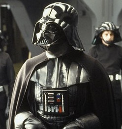 Darth Vader from the Star Wars movie saga. Look at the pictures at the end of the post. Can you see similarities?