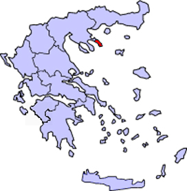 Mount Athos is in north eastern Greece, east of Salonika and only accessible by boat from Ouranopolis  (ouranos means sky so Ouranopolis means Sky Town).