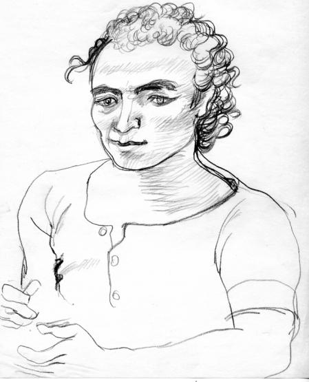 Stavros - portrait by John Bell