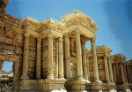 Palmyra, Syria - some of the best preserved Roman ruins in the world are here about 200 kms from Baghdad, Iraq.