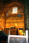Konya, Turkey - Rumi Mevlana's (founder of the Whirling Dervishes Sufi Order) Tomb