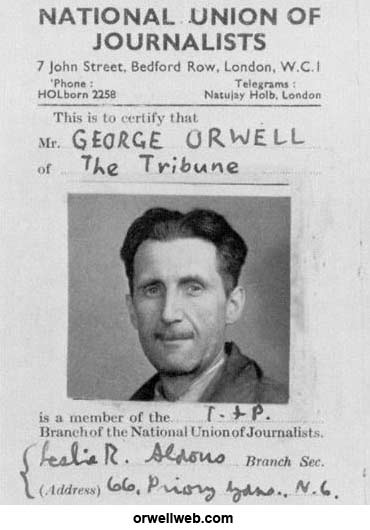 george orwell essays politics and the english language
